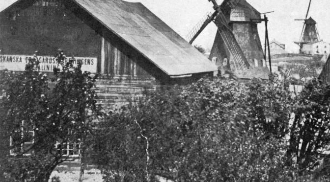 Lamkes mölla vid Östervärn 1880