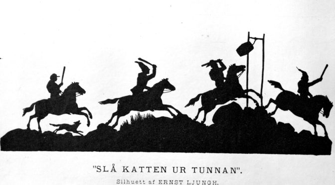 """Seden """"slå katten ur tunnan"""" på Valborgsmässoafton"""