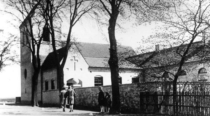 Från gymnastikbänk till Kirsebergs kyrka