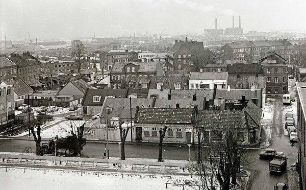 Utsikt från höghuset 1970
