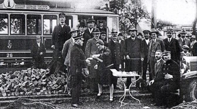 Första spårvagnen kom till Rostorp 15 september 1930!