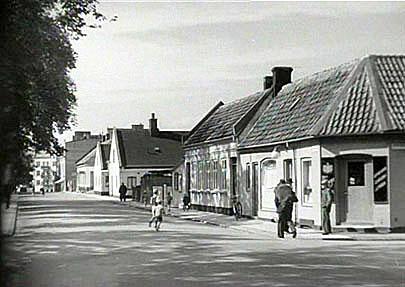 En dag i slutet av 40-talet av Backapågen Lennart Olsson