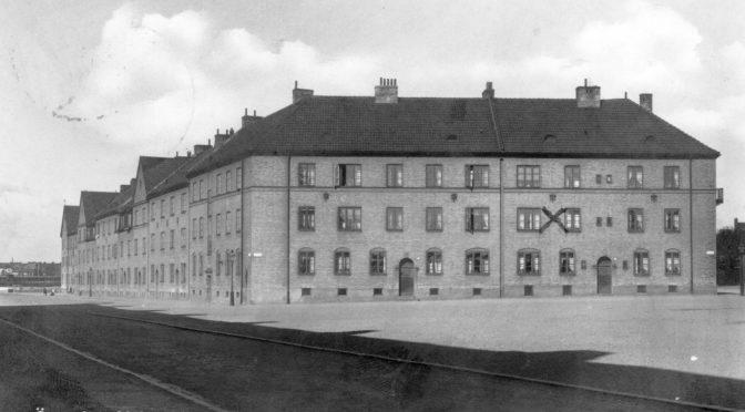 Vykort på Östergård, frankerat 1942