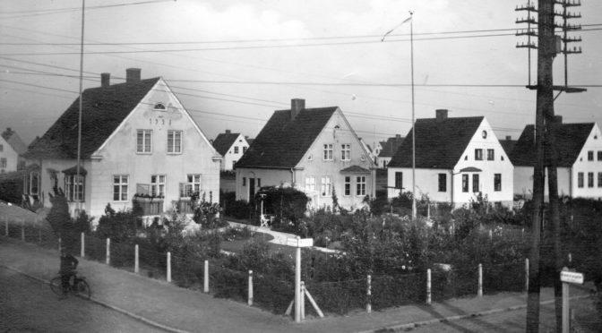 Åkerögatan/Kronotorpsgatan ca 1930